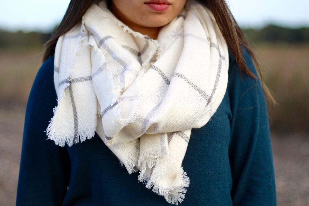 The Perfect Blanket Scarf