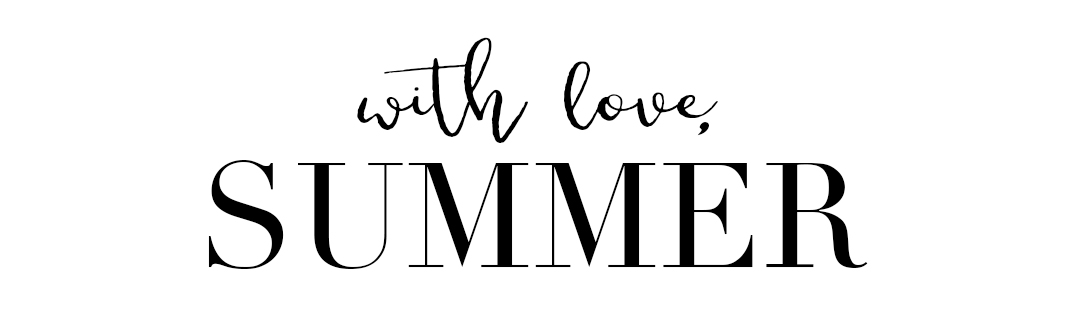 With Love, Summer