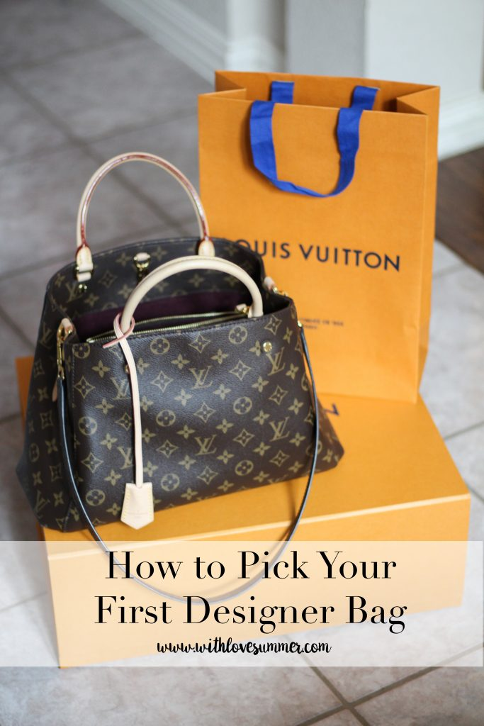 How to Choose Your First Designer Bag