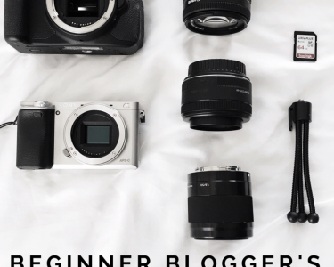 beginner's guide to blogging cameras