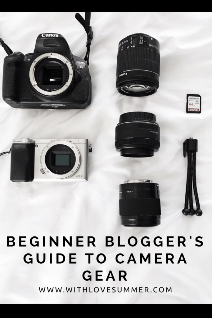 Camera Gear I Use for Blogging
