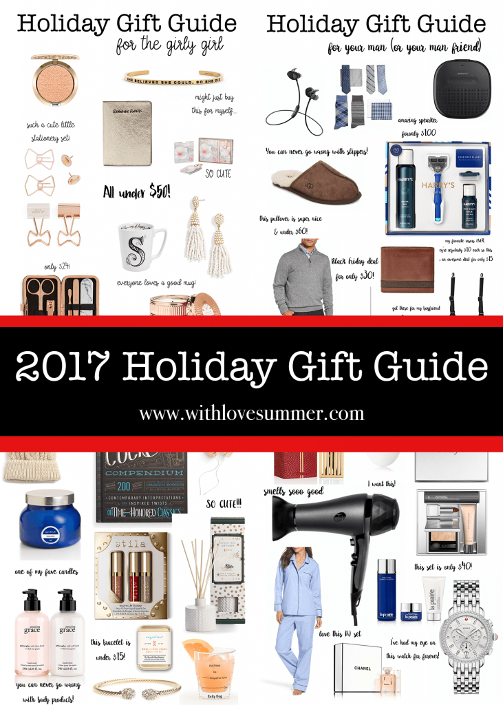 ULTIMATE HOLIDAY GIFT GUIDE 2017