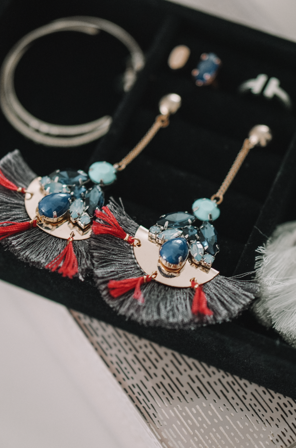 Statement Earrings for Spring + Jewelry Organization