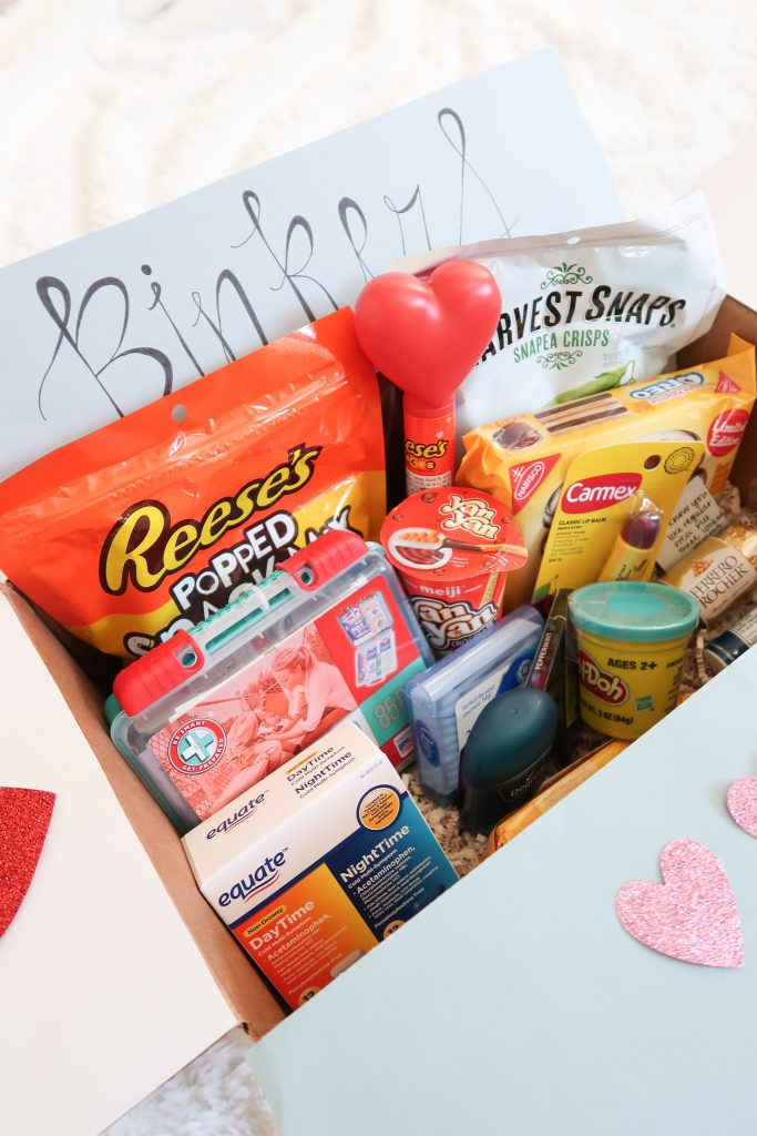 valentine s day gift idea easy diy care package